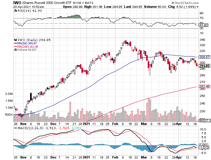 Russell 2000 Growth Stocks